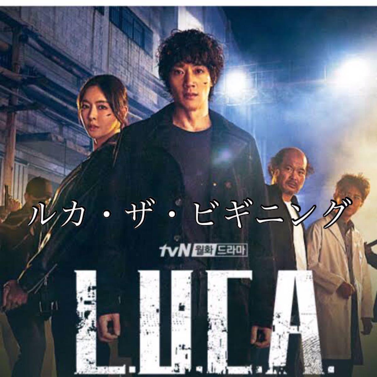 韓国ドラマ★ルカ・ザ・ビギニング(LUCA:The Beginning★ブルーレイ・Blu-ray 全話収録 当日~3日で発送