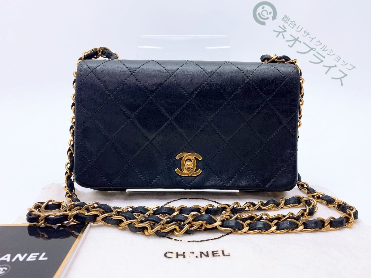 ◆S6190 CHANEL シャネル ミニマトラッセ ココマーク ターンロック チェーン バッグ