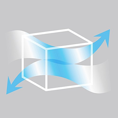 ブルー 3枚組 70×30×50㎝ アストロ 羽毛布団 収納袋 3枚 シングル・ダブル兼用 ブルー 不織布 持ち手付き 縦型 1_画像6