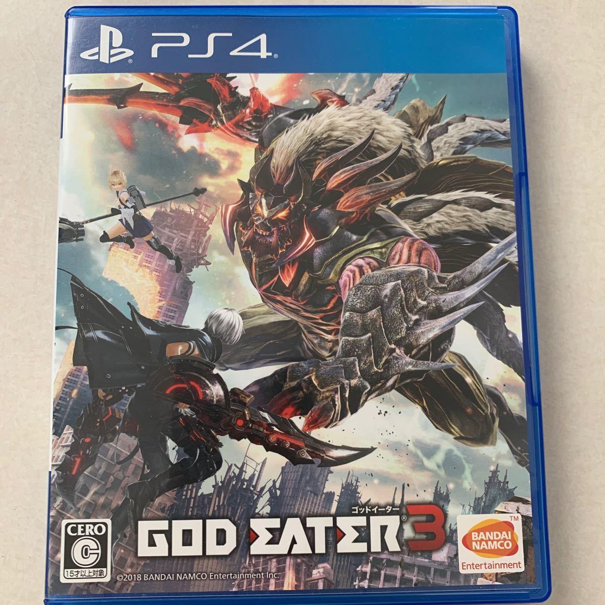 【PS4】 GOD EATER 3 [通常版]