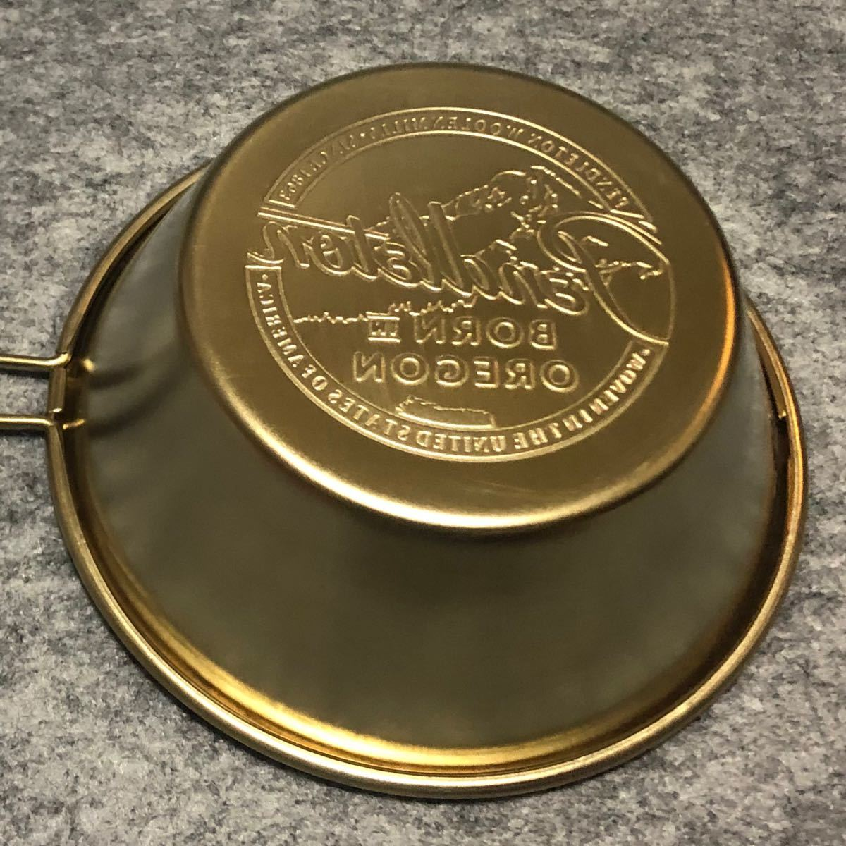 ペンドルトン ステンレス シェラカップ 330ml GOLDEN BROWN