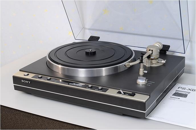 SONY PS-X60 取説のコピー付 クォーツロック ダイレクトドライブ フルオートレコードプレーヤー 基本整備済動作良好品 1円スタート