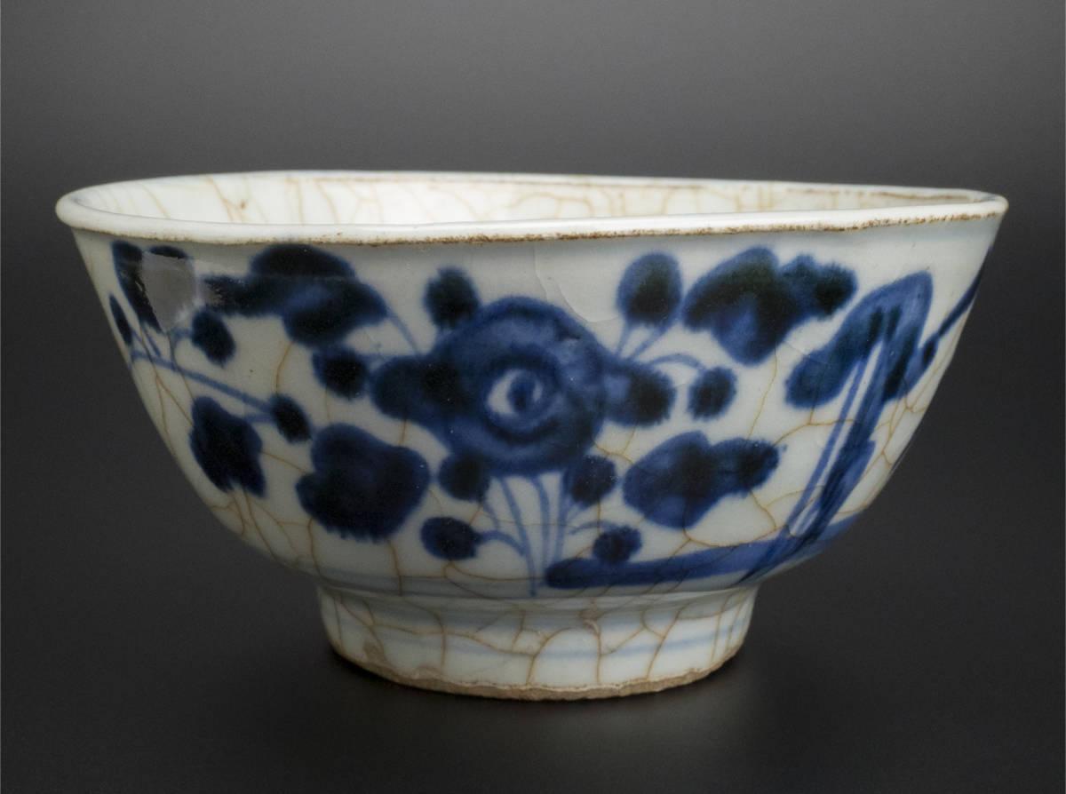 清 青花碗 中国 古美術_画像2