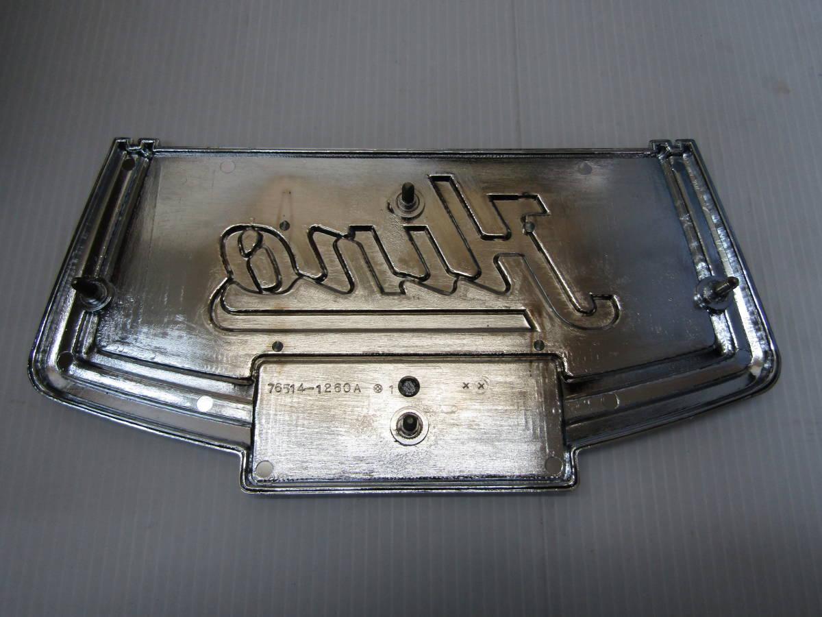日野 バス エンブレム プレート HINO RR BUS_画像2