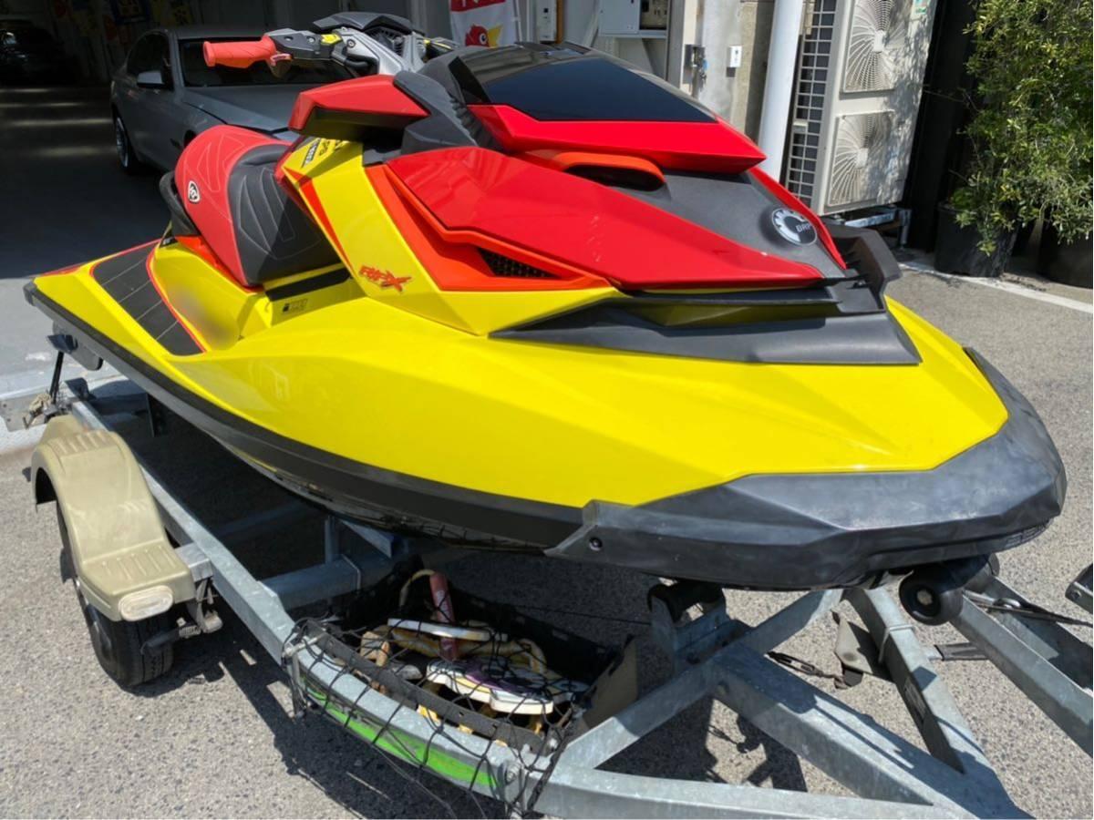 「2015年モデル SEA-DOO RXP-X260RS 79hr インタークーラー対策品交換済 RIVA エアクリ スポンソン トリムタブ 」の画像1