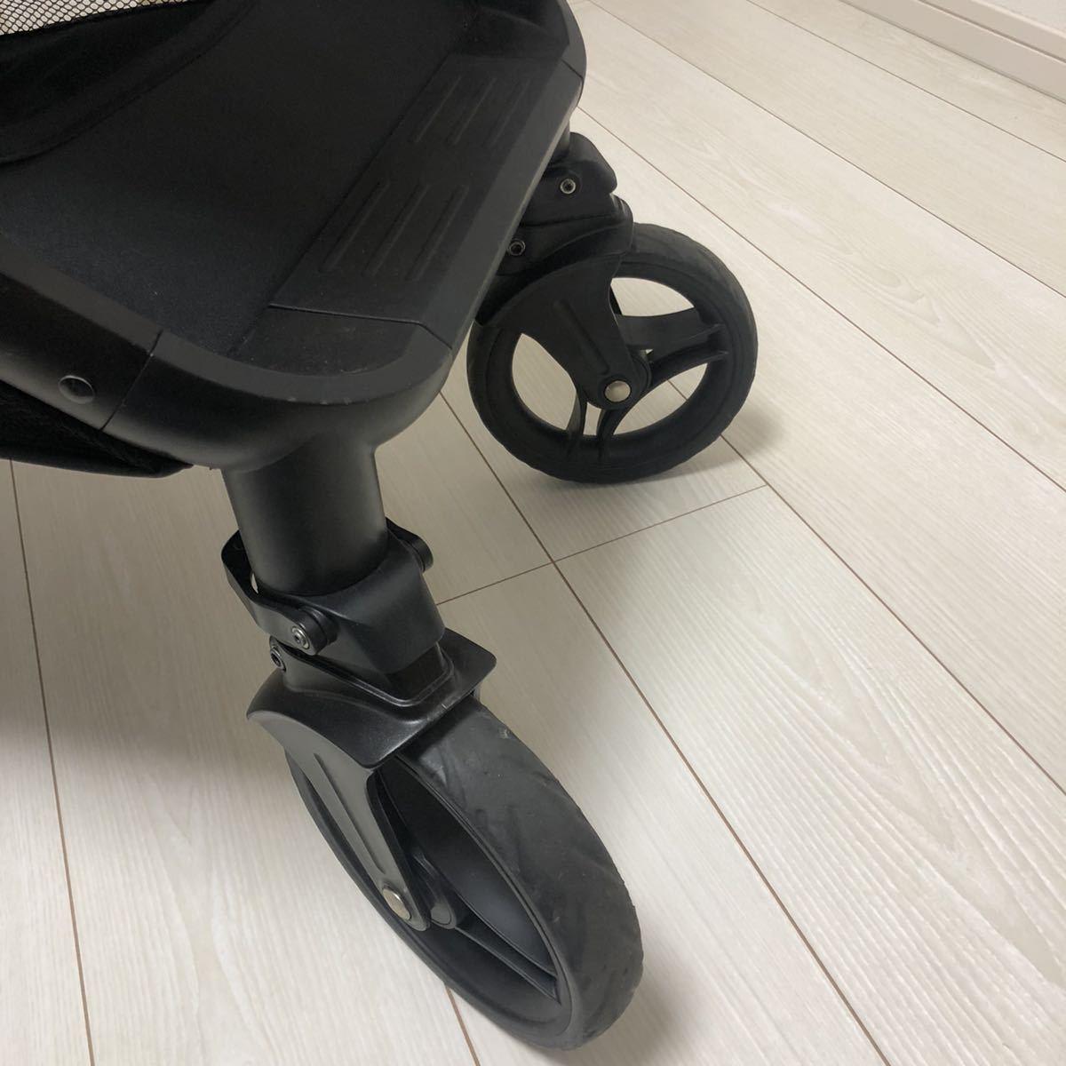 【美品】joie 2人乗り ベビーカー 双子 折り畳み式 チャイルドシート 高性能タイヤ
