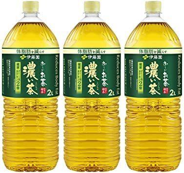 伊藤園 濃い茶 おーいお茶 2L [機能性表示食品]×3本_画像1