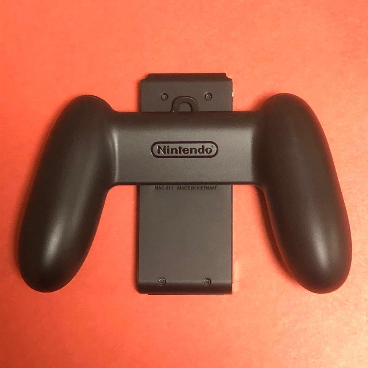 Nintendo Switch ジョイコン ジョイコングリップ一式 Joy-Con ニンテンドースイッチ グレー ジャンク品