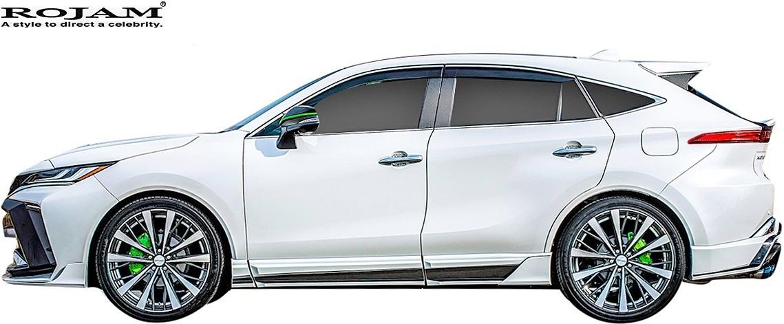 【M's】トヨタ 80系 ハリアー (2020.6-) ROJAM IRT GENIK フルエアロ 3点 (LEDレスver.) ロジャム FRP エアロ パーツ エアロキット セット_画像3