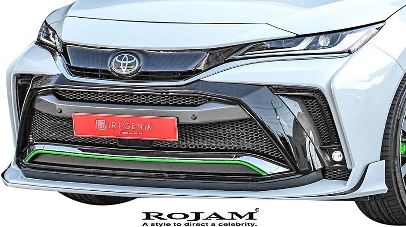 【M's】トヨタ 80系 ハリアー (2020.6-) ROJAM IRT GENIK フルエアロ 3点 (LEDレスver.) ロジャム FRP エアロ パーツ エアロキット セット_画像7