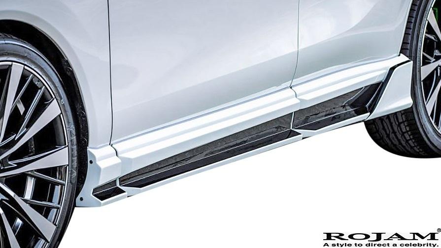 【M's】80ハリアー MXUA8 AXUH8 (2020.6-) ROJAM IRT GENIK エアロキット 3P (LEDレスver.) ロジャム FRP エアロパーツ フルエアロ セット_画像8
