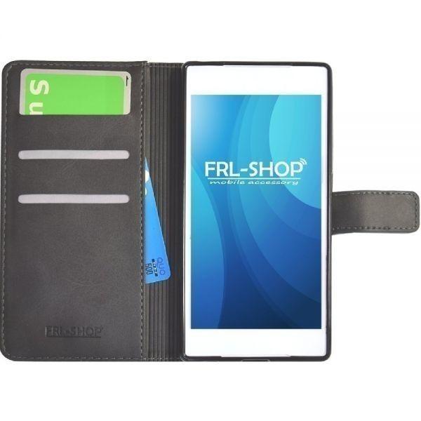 FRL-SHOP◆ iPhone11 Pro ケース ◆ レザー 手帳型 ケース カバー 手帳 ケース カバー F-25bk☆_画像3