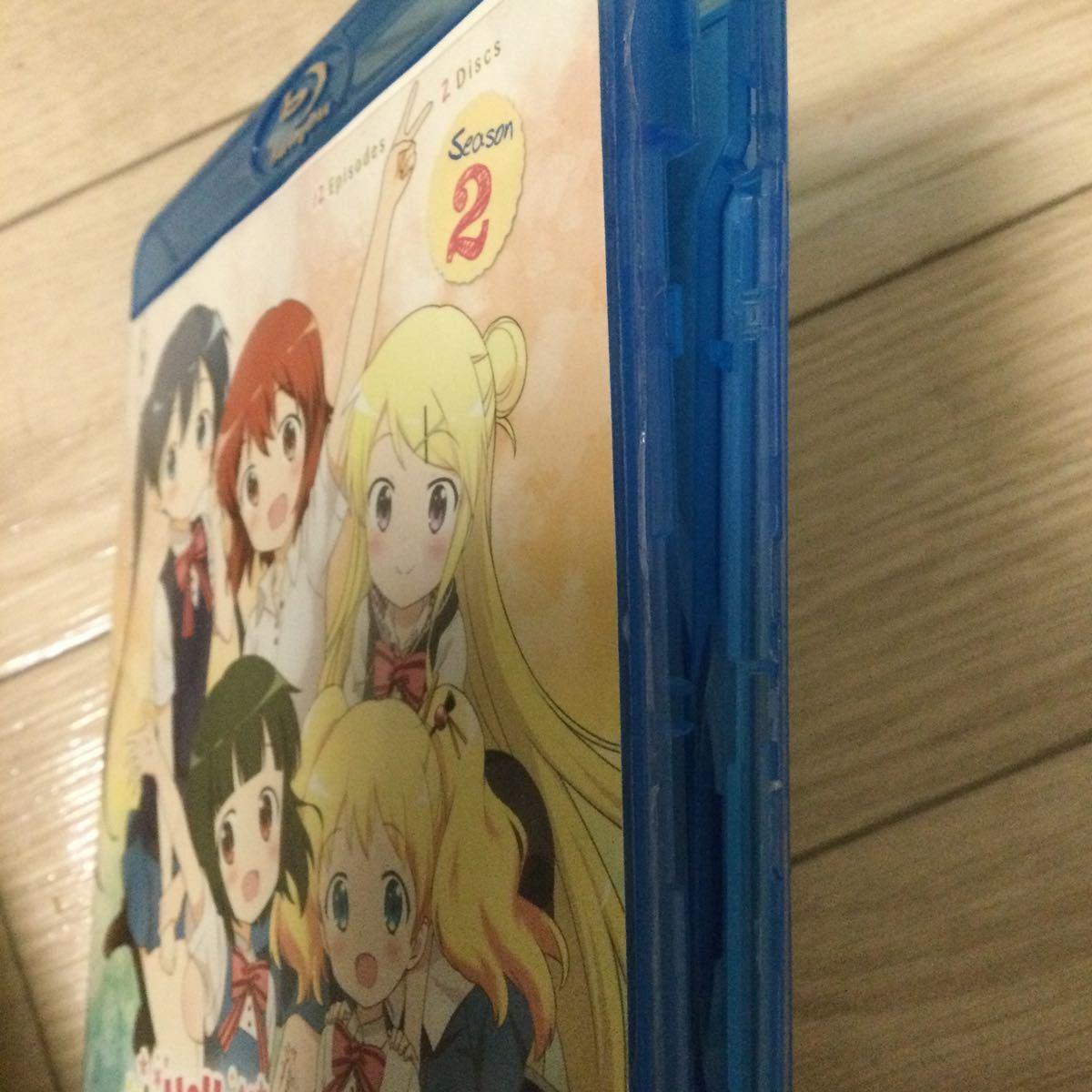 Blu-ray 北米版 DVD きんいろモザイク 1期&2期 海外版