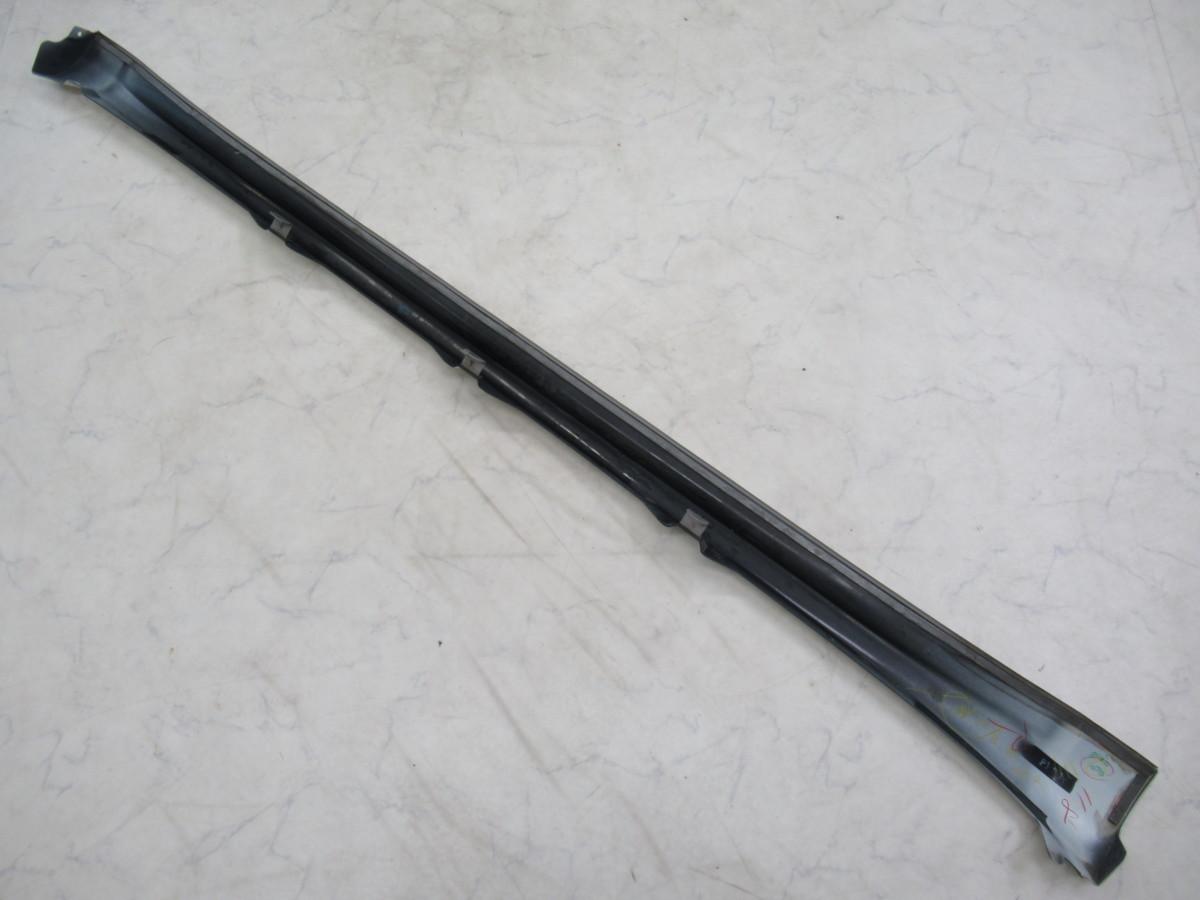 【20071296-1】トヨタ60系ハリアー用TRDサイドスカート(MS344-48001)右側のみ(運転席側)中古品 ホワイトパールクリスタルシャイン_画像2