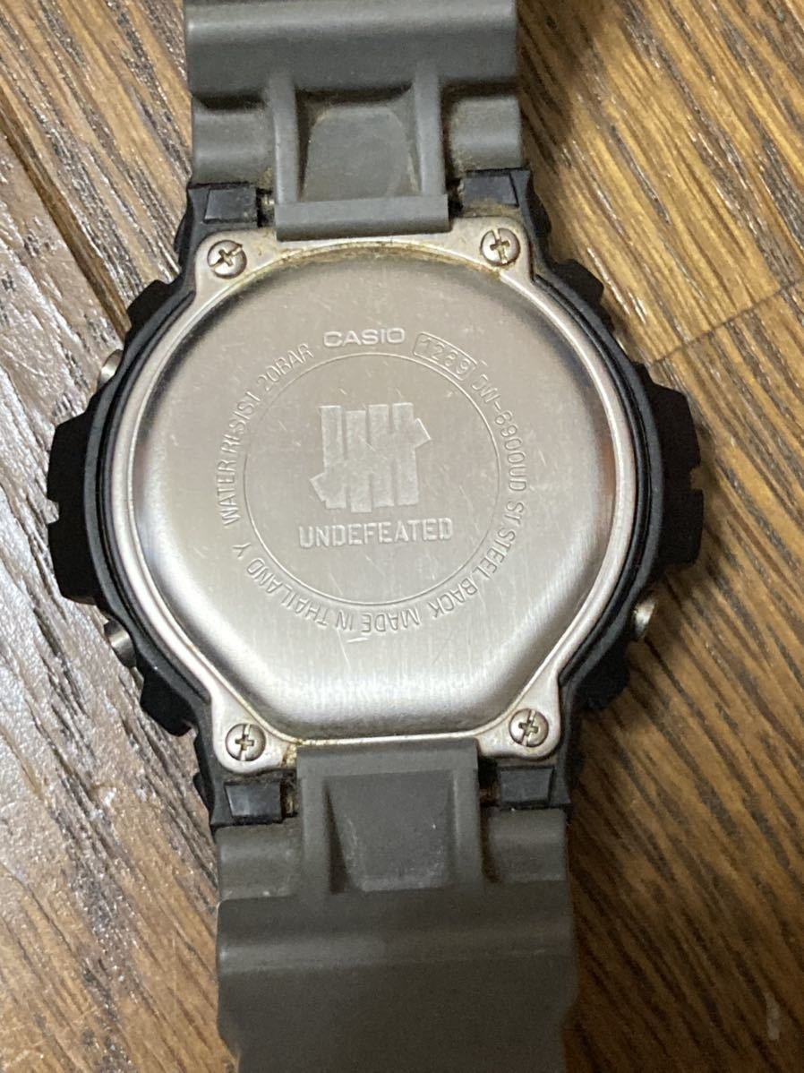 G-SHOCK × UNDEFEATEDコラボ _画像2