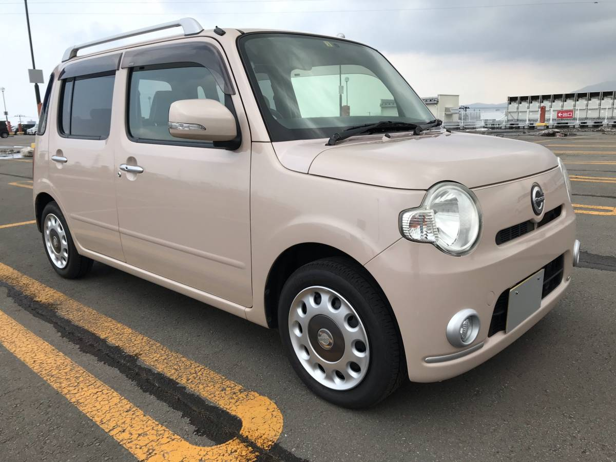 「ミラココア プラスX 4WD !!車検長い令和5年4月迄!!」の画像2