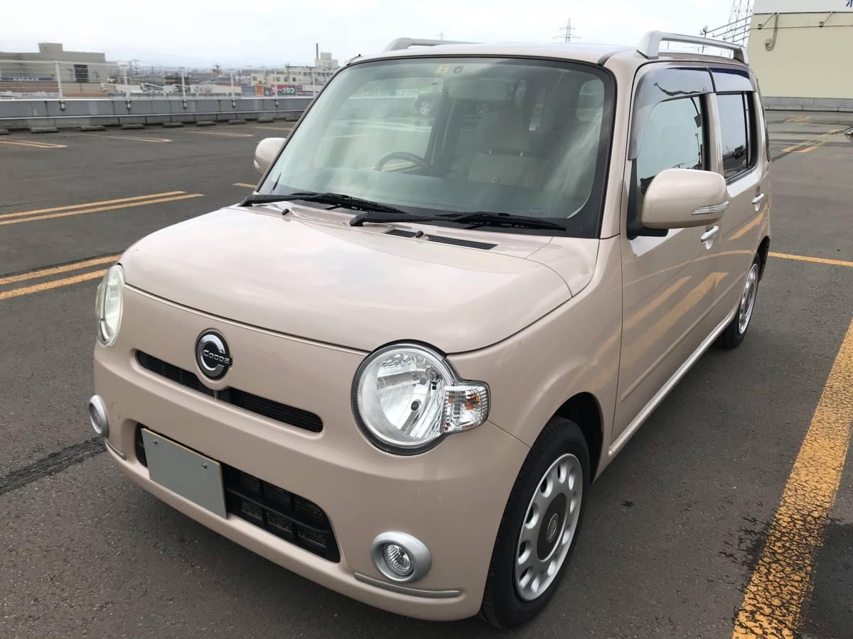 「ミラココア プラスX 4WD !!車検長い令和5年4月迄!!」の画像1