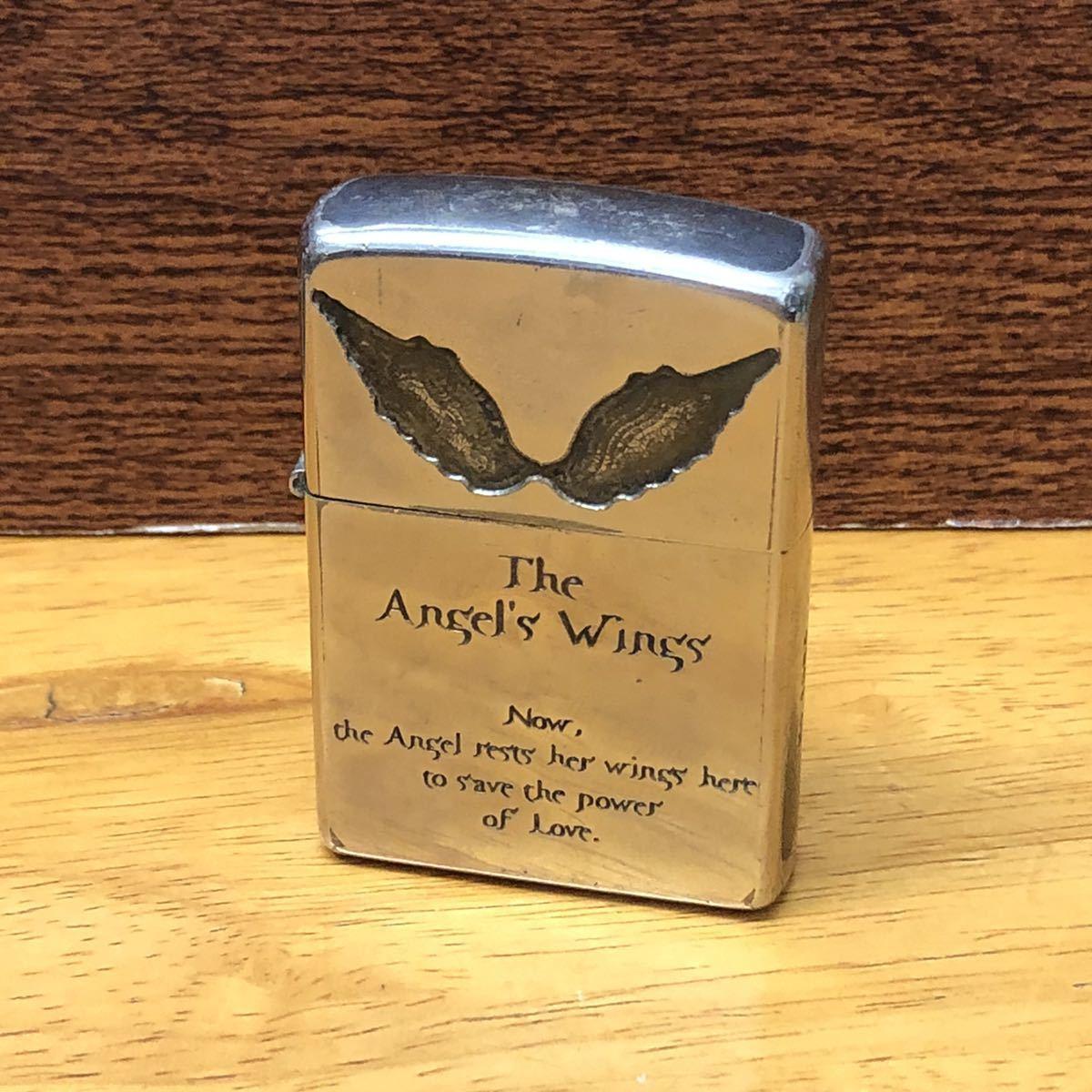 ★ コレクター必見!! ★ ZIPPO ジッポ The Angels Wings 2004年 10月製 オイルライター 喫煙具 ジッポー コレクション★CE0