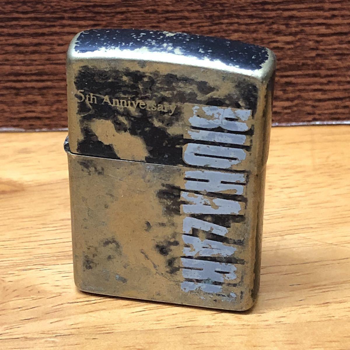 ★ コレクター必見!! ★ ZIPPO ジッポ バイオハザード 5周年 5th Anniversary 2000年 10月製 BIOHAZARD オイルライター 喫煙具 ★CE0