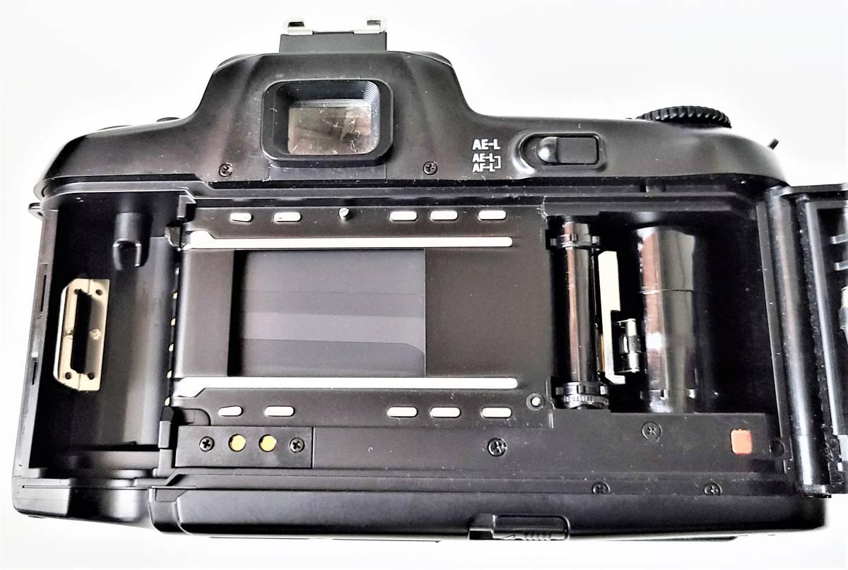 Nikon ニコン F-601 Quartz Date フィルムカメラ + Tamron タムロン 55-200mm f/4-5.6 レンズ 動作します_画像9