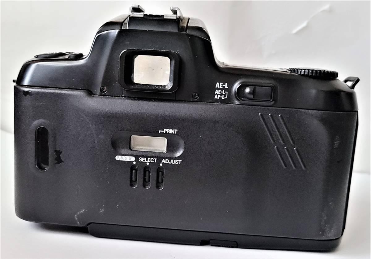 Nikon ニコン F-601 Quartz Date フィルムカメラ + Tamron タムロン 55-200mm f/4-5.6 レンズ 動作します_画像5