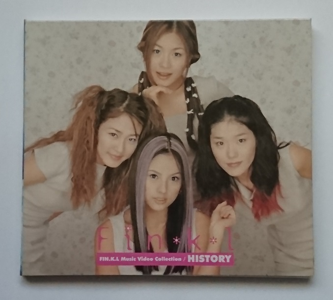 Fin.K.L / Fin.K.L - History / Music Video Collection (VCD) 《韓国盤》_画像1