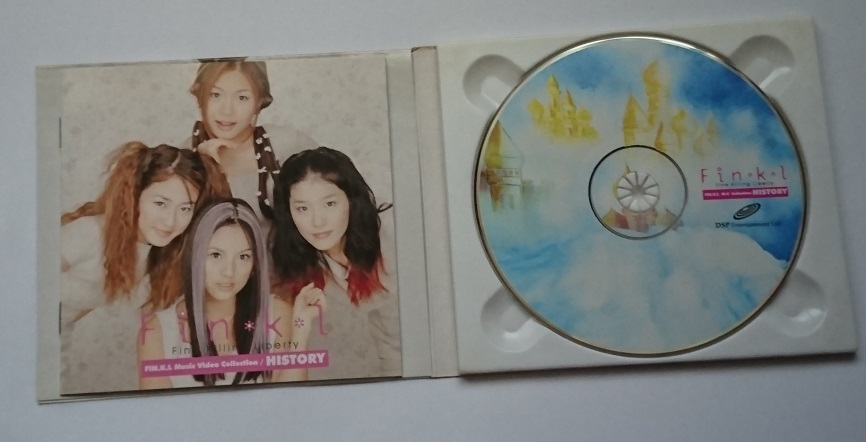Fin.K.L / Fin.K.L - History / Music Video Collection (VCD) 《韓国盤》_画像3