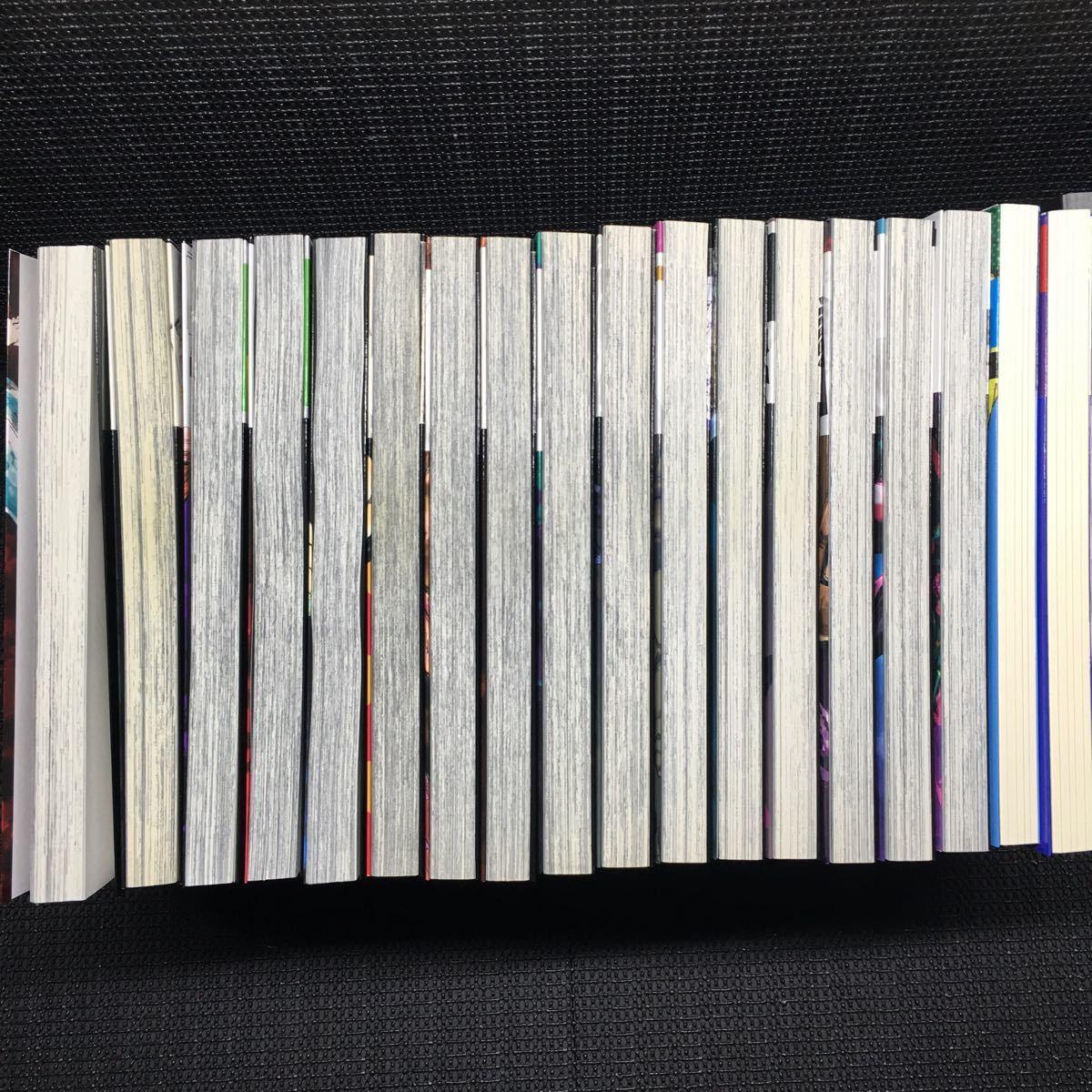呪術廻戦 0~15巻セット 小説版1~2巻セット 公式ファンブック 19冊セット 刷数:23,2,25,22,22,1,1,1,1,1,1,1,1,1,1,1-12,11-2 芥見下々_画像5