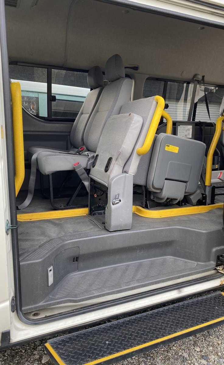 「ハイエース ディーゼルターボ 4WD 検付 電動パワースライドドア ウェル チェアキャブ PG 福祉車両 車いす移動車 リフト ハイルーフ」の画像3