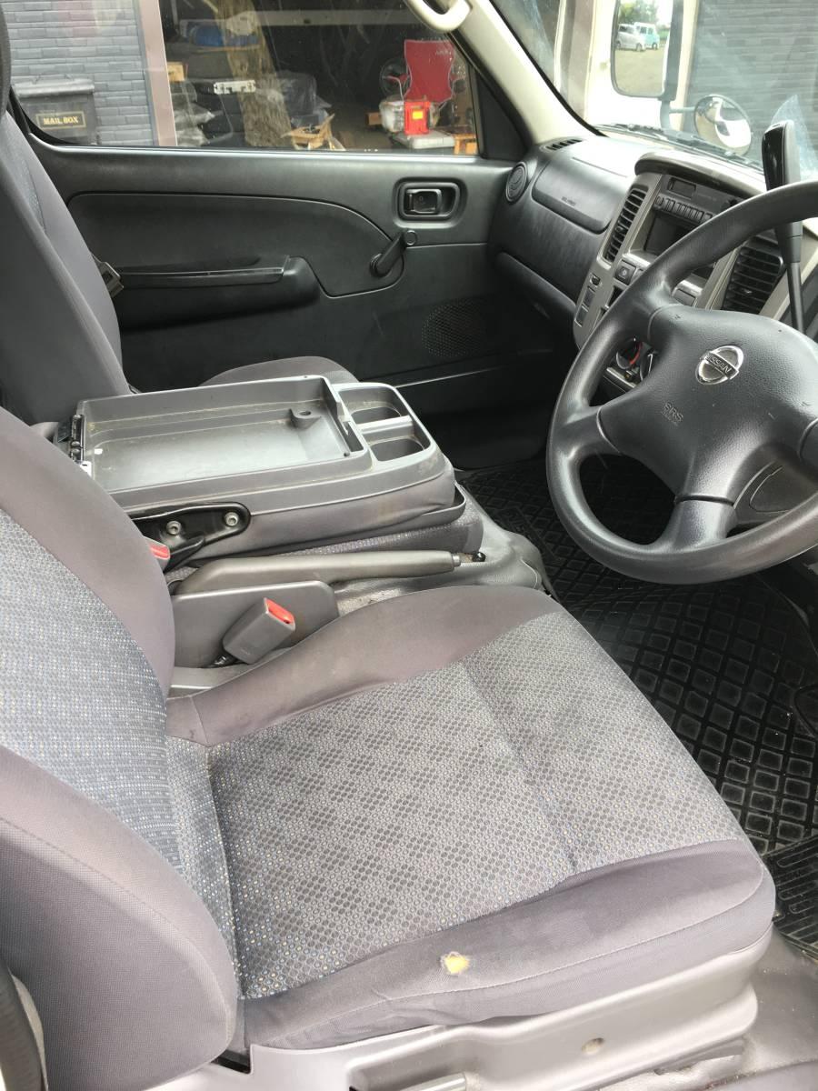 「キャラバン E25後期 希少 リフト付 パワーゲート PG DX ディーゼルターボ 4WD ホワイト」の画像3