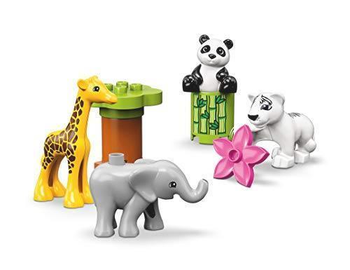 ! レゴ(LEGO) デュプロ 世界のどうぶつ どうぶつの赤ちゃん 10904 知育玩具 ブロック おもちゃ 女の子 男の子_画像2