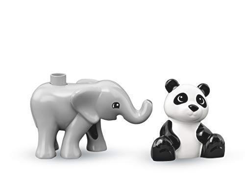 ! レゴ(LEGO) デュプロ 世界のどうぶつ どうぶつの赤ちゃん 10904 知育玩具 ブロック おもちゃ 女の子 男の子_画像4