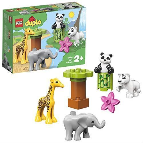 ! レゴ(LEGO) デュプロ 世界のどうぶつ どうぶつの赤ちゃん 10904 知育玩具 ブロック おもちゃ 女の子 男の子_画像1