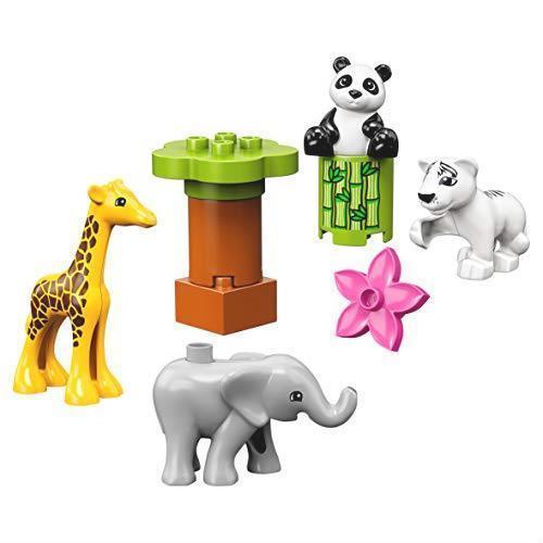 ! レゴ(LEGO) デュプロ 世界のどうぶつ どうぶつの赤ちゃん 10904 知育玩具 ブロック おもちゃ 女の子 男の子_画像3