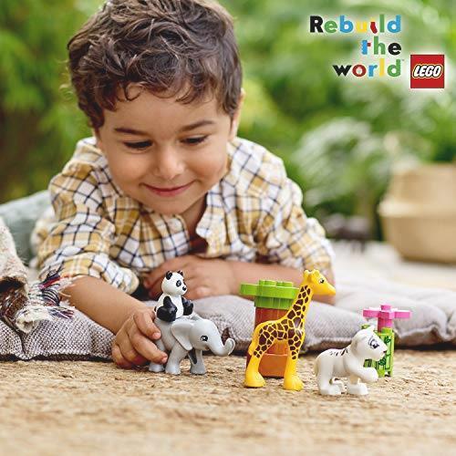 ! レゴ(LEGO) デュプロ 世界のどうぶつ どうぶつの赤ちゃん 10904 知育玩具 ブロック おもちゃ 女の子 男の子_画像5