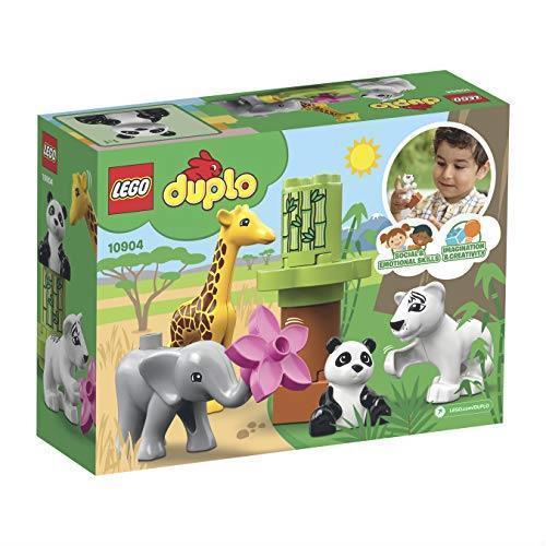! レゴ(LEGO) デュプロ 世界のどうぶつ どうぶつの赤ちゃん 10904 知育玩具 ブロック おもちゃ 女の子 男の子_画像6