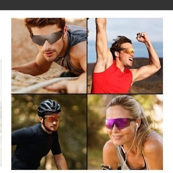 スポーツサングラス 偏光レンズ 野球 自転車 登山 釣り ゴルフ ランニング ドライブ バイク テニス スキー 超