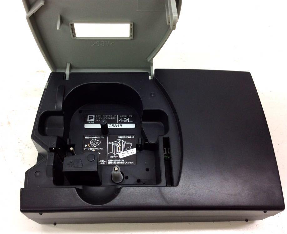 ジャンク品 キングジム PCラベルプリンター FC0622 テプラプロ SR3500P PC接続専用 KING JIM ブラック_画像7