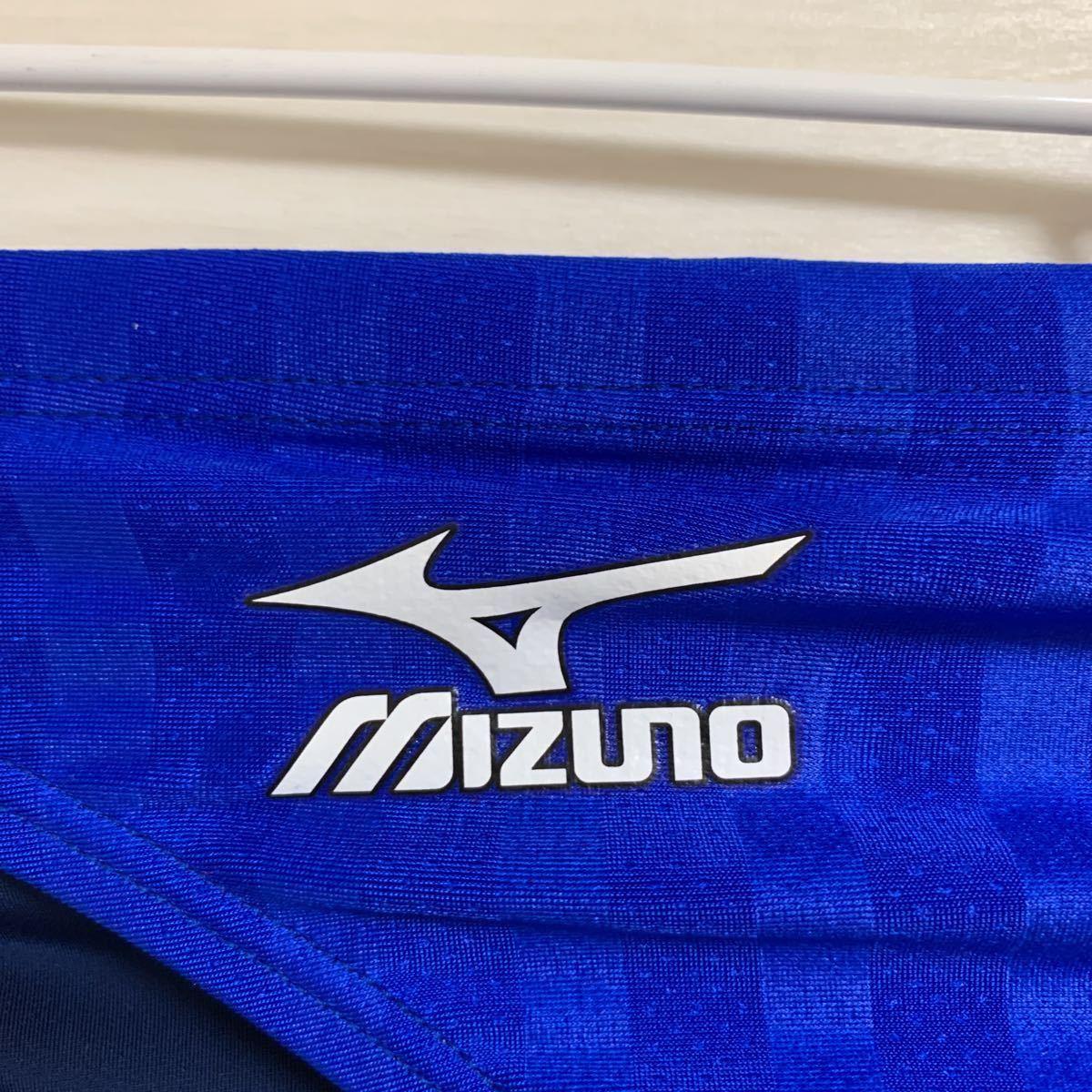 MIZUNO(ミズノ)新品(別注) XLサイズ 旧ロゴ 箱あり タグあり ストリームアクセラ 競パン Vパン ブルー/ネイビー N2JQ601100 ブーメラン_画像3