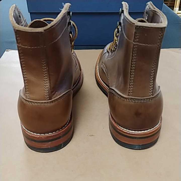 OAKSTREET BOOTMAKERS Dainite Trench Boot オークストリート ブーツメーカー トレンチブーツ size us9.5 27.5cm デウスエクスマキナコラボ_画像4
