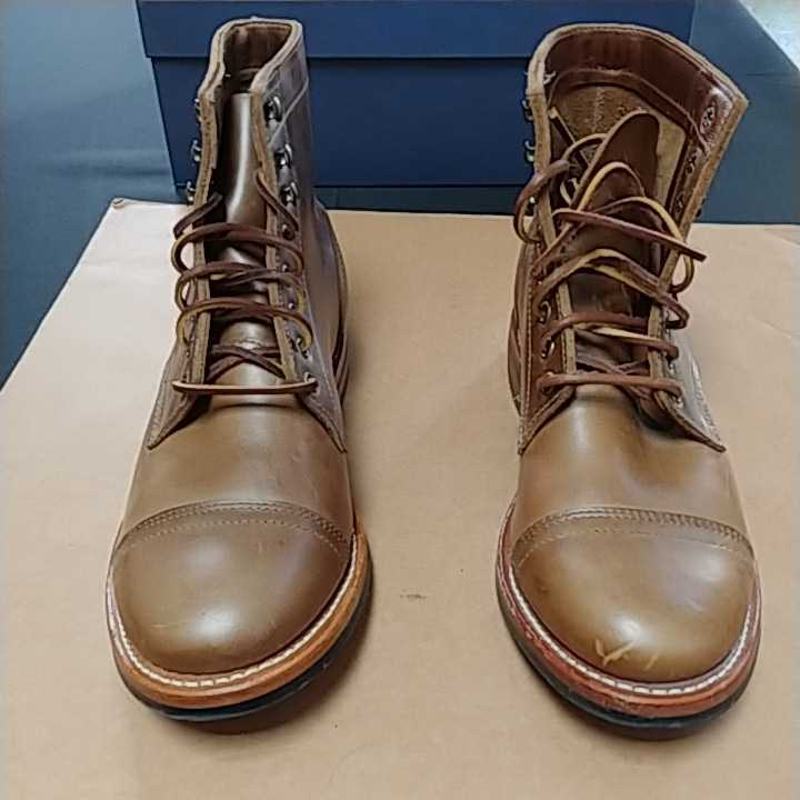 OAKSTREET BOOTMAKERS Dainite Trench Boot オークストリート ブーツメーカー トレンチブーツ size us9.5 27.5cm デウスエクスマキナコラボ_画像3