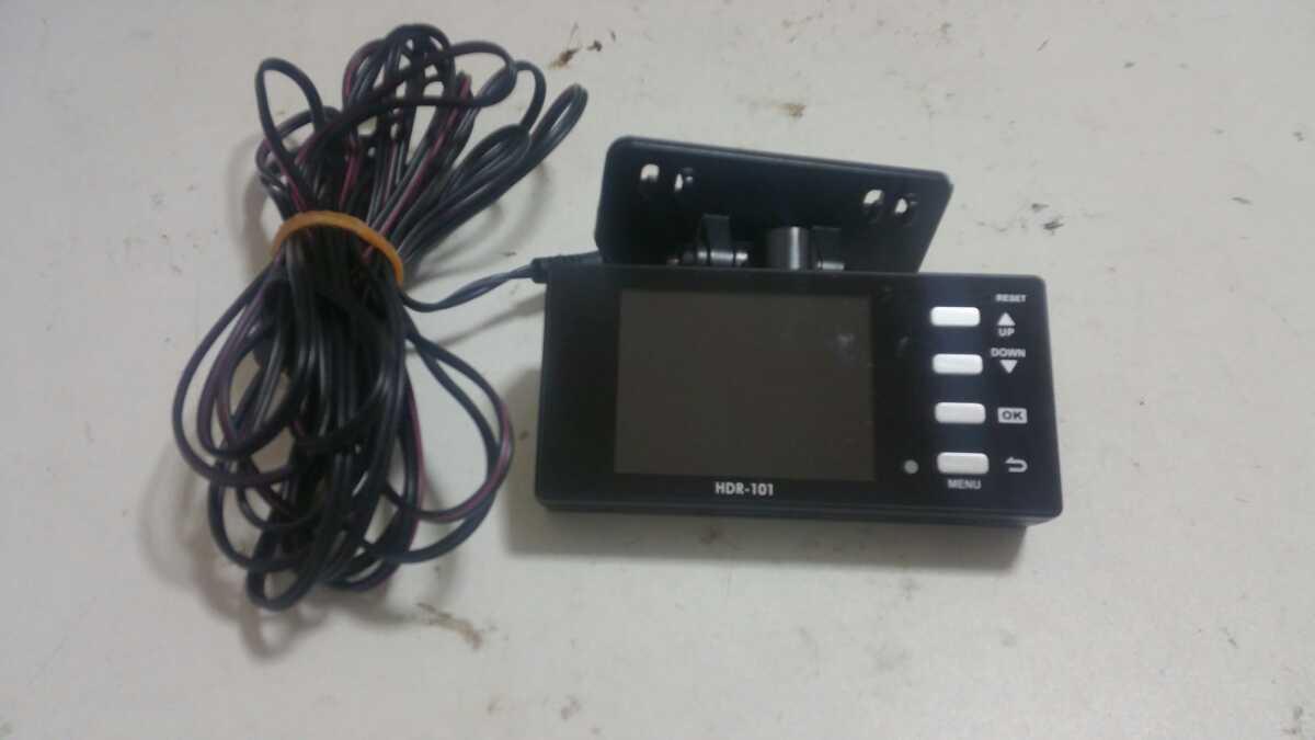 コムテック HDR-101 ドライブレコーダー _画像1