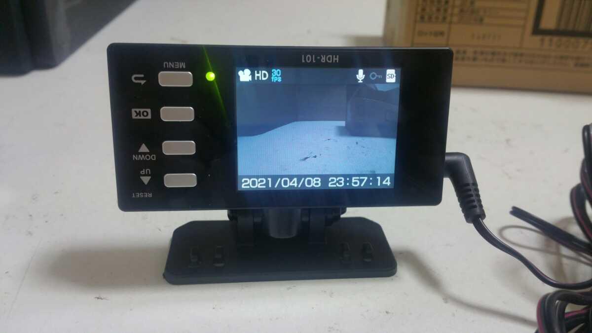 コムテック HDR-101 ドライブレコーダー _画像2