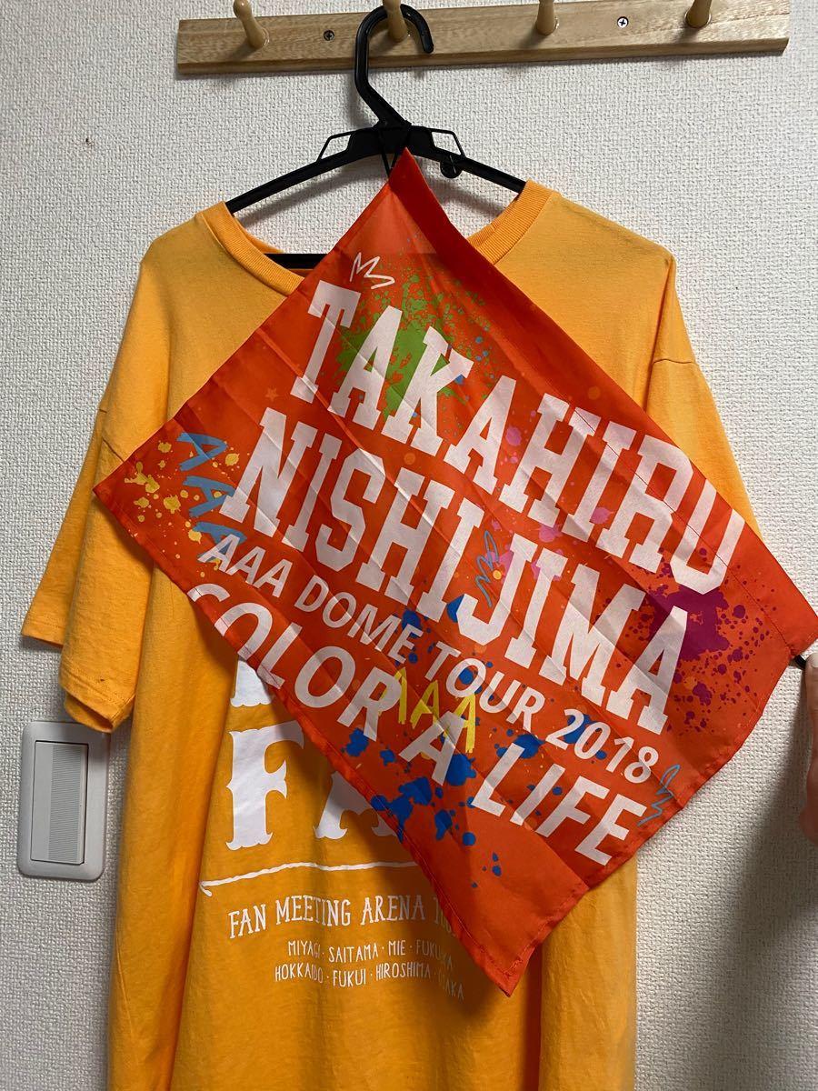#Tシャツ #AAA #Liveシャツ #ツアーTシャツ#フラッツ#西島隆弘