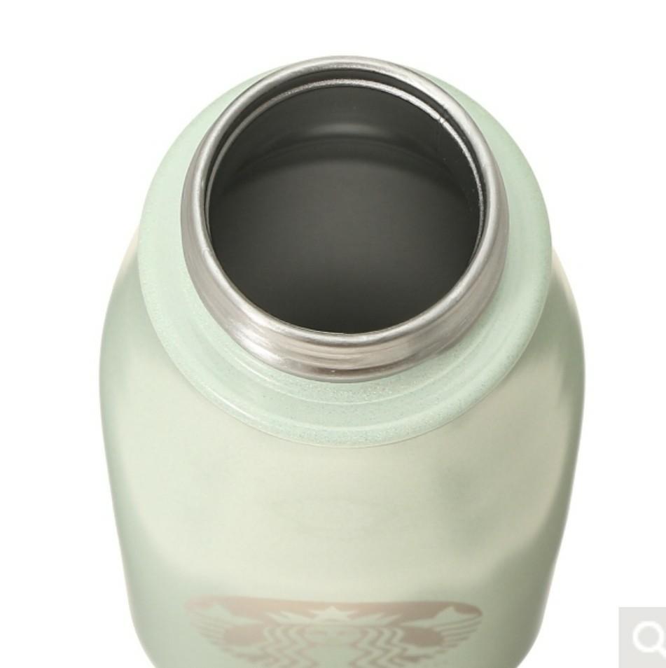 ステンレスミニボトルライトグリーン237ml
