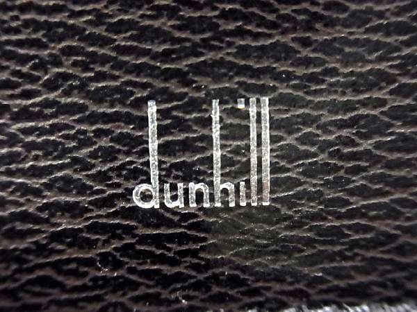 dunhill ダンヒル レザー シルバー金具 ハンドバッグ ビジネスバッグ ブリーフケース 書類かばん メンズ ブラック_画像7