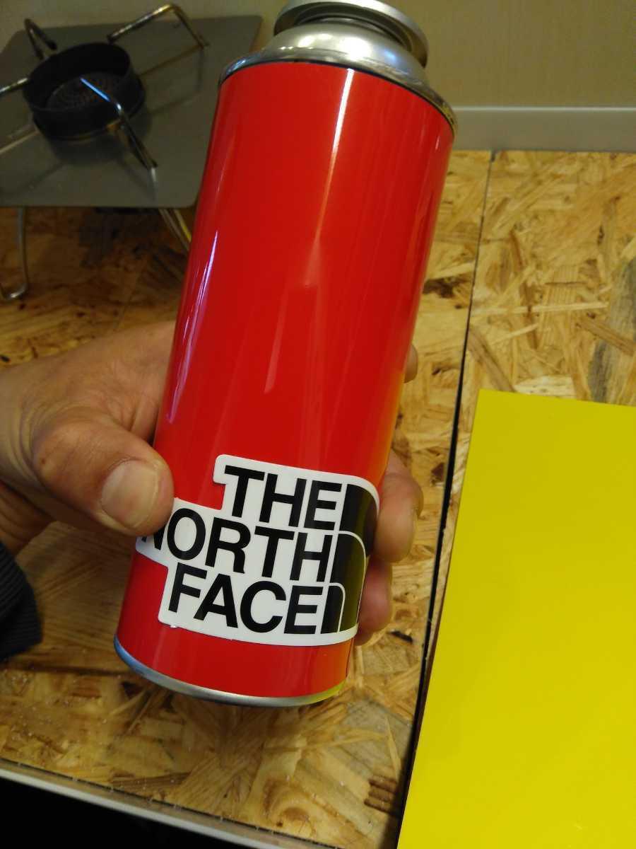 【ガス缶用マグネットカバー♪】1枚オマケ/ノースフェイスののステッカー付き♪ガス缶をお好みにカスタム♪シングルバーナー