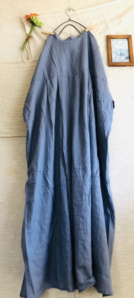 【新品】リネン100%★着回ししやすいシャツワンピース サマンサモスモス Samansa Mos2_画像8