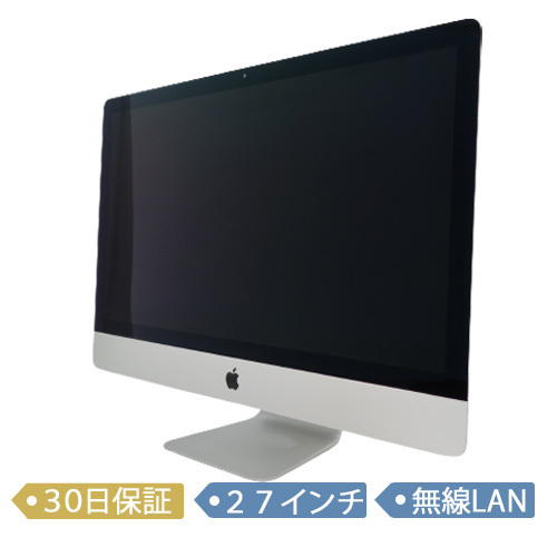 Apple iMac Retina 5K/MK462J/A/Core i5 3.2GHz/1TB/メモリ8GB/27インチ/Mac OS(10.11)/【可】_画像1
