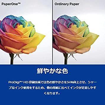 ◆ QHA4(500枚×5冊) APRILN3-U3高白色 コピー用紙 PAPER ONE A4 (500枚 5冊)_画像7